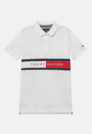 FLAG - Poloshirt - white