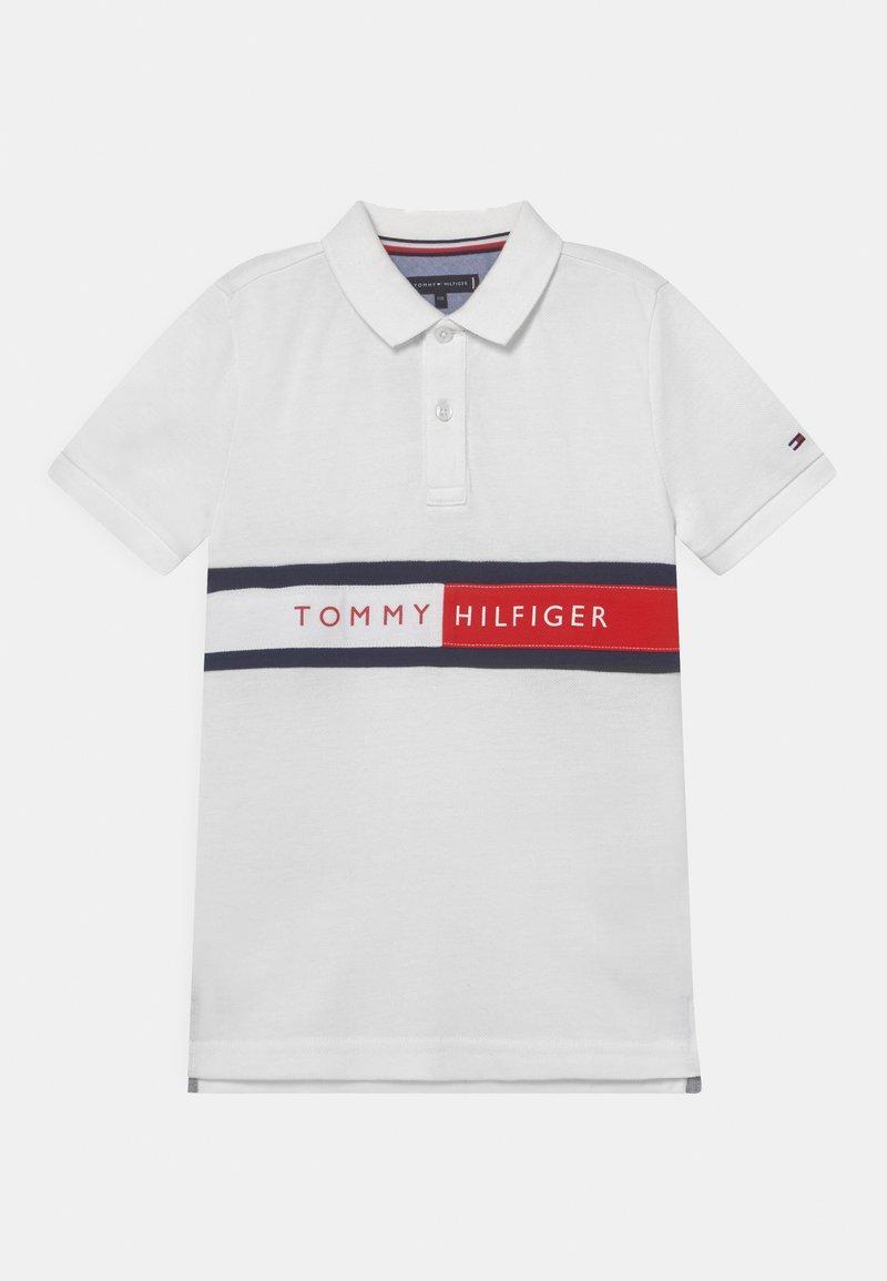 Tommy Hilfiger - FLAG - Poloshirts - white