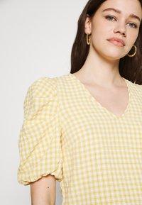 Object - OBJTAMAR - T-shirt print - bamboo/sandshell - 4