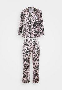 Simply Be - PRETTY SECRETS BUTTON THROUGH - Pyjamas - pink/black - 0