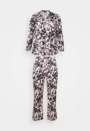 PRETTY SECRETS BUTTON THROUGH - Pyjama - pink/black