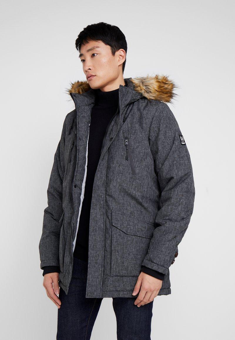 Cars Jeans - DEMSEY TASLON - Wintermantel - grey denim