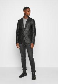 Antony Morato - SLIM JACKET ZELDA - Blazer jacket - black - 1