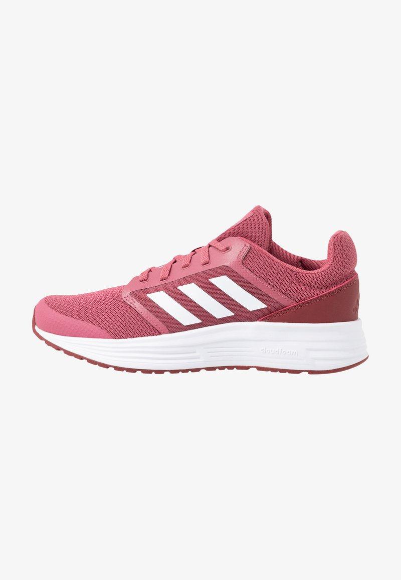 adidas Performance - GALAXY  - Neutrale løbesko - trace maroon/footwear white/red