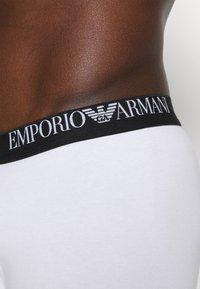 Emporio Armani - TRUNK 3 PACK - Underbukse - white - 5