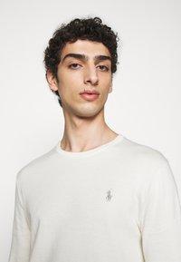 Polo Ralph Lauren - LONG SLEEVE - Stickad tröja - antique cream - 3