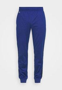 Lacoste Sport - TENNIS PANT BLOCK - Verryttelyhousut - cosmic/navy blue/white - 3