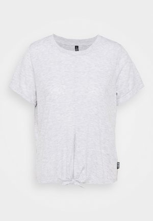 TIE UP  - T-shirt basic - grey marle