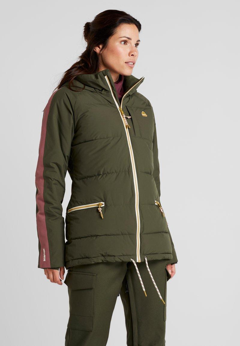 Burton - KEELAN  - Snowboardová bunda - olive