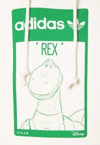 adidas Originals - HOODIE REX UNISEX - Sweatshirt - off white - 2