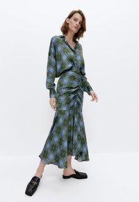 Uterqüe - A-line skirt - green - 1