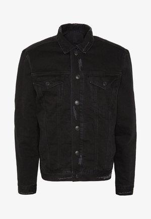 BRIND JACKET - Cowboyjakker - washed black/black