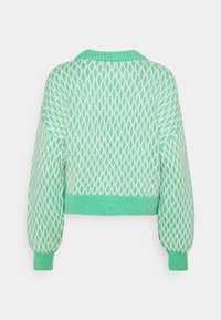 ONLY - ONLCESILLA  - Jumper - deep green/cloud dancer - 1