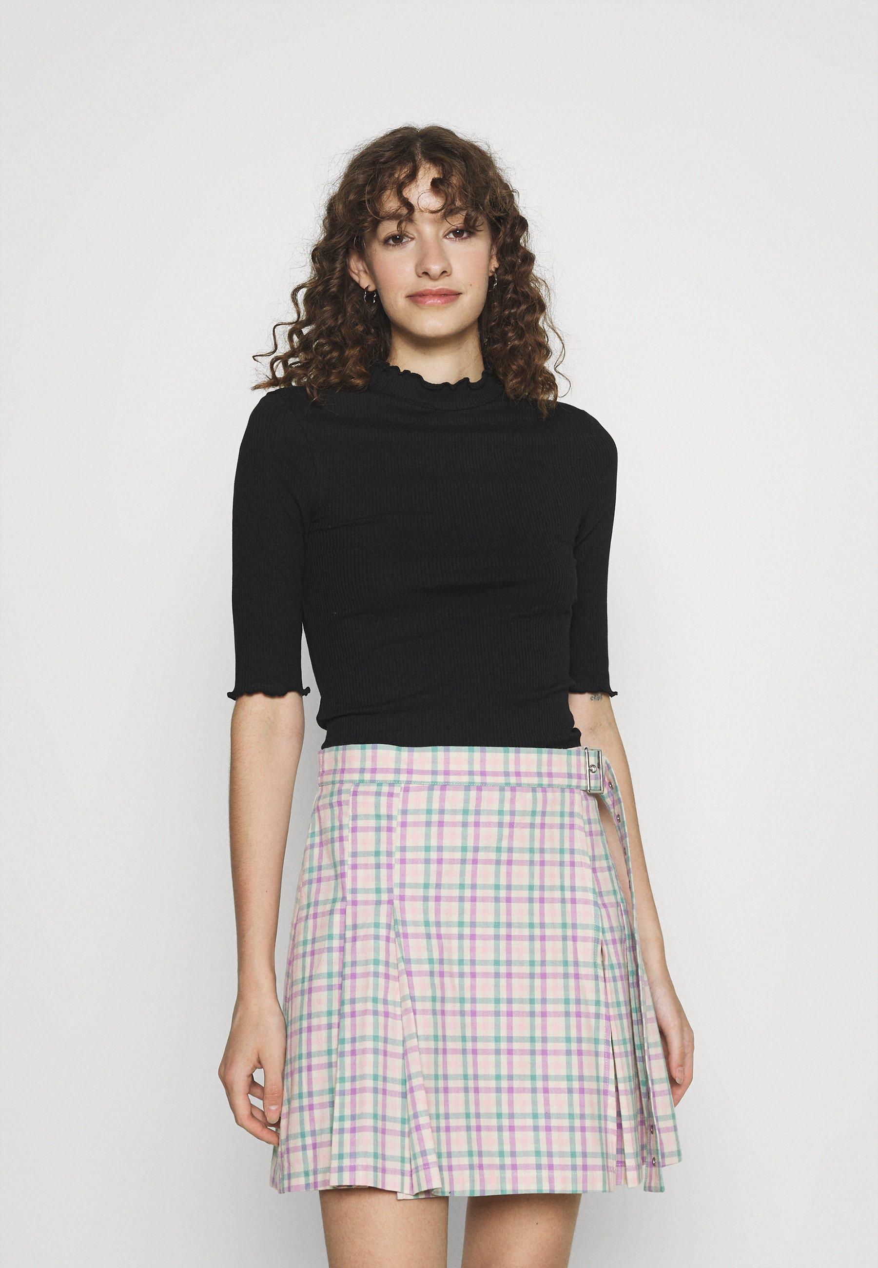 Damen VIJULLA HIGH NECK - T-Shirt basic