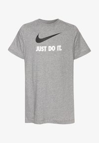 Nike Sportswear - Triko spotiskem - dark grey heather - 0