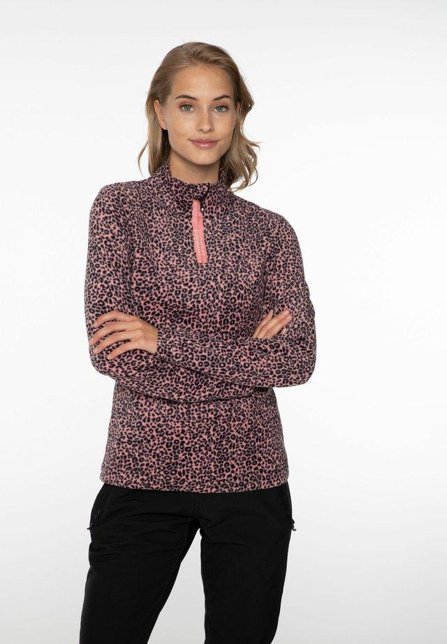 Fleece jumper - think pink