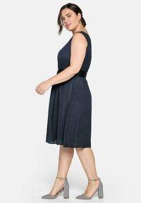 Sheego - Cocktail dress / Party dress - nachtblau - 3