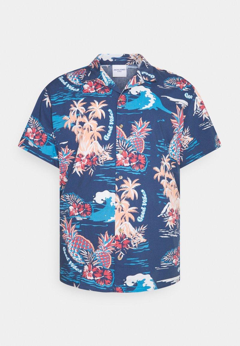 Jack & Jones - JORTROPICANA RESORT SHIRT - Shirt - ensign blue