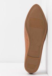 ALDO Wide Fit - BLANCHETTE - Slip-ons - medium brown - 6