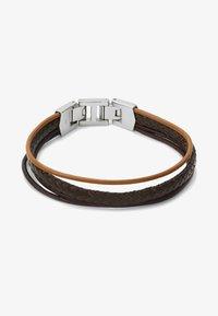Fossil - MENS DRESS - Bracelet - brown - 3