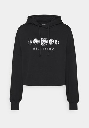Loose Fit Printed Sweatshirt - Sudadera - black