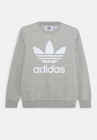adidas Originals - TREFOIL CREW - Sweater - medium grey heather - 0