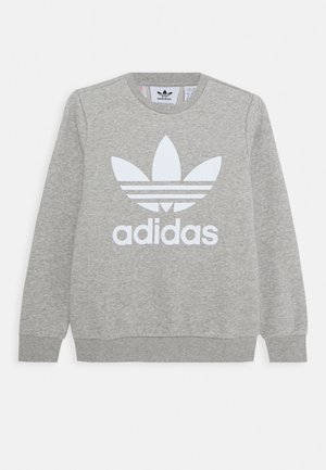 TREFOIL CREW - Sweatshirt - medium grey heather