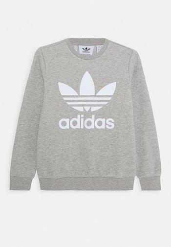 TREFOIL CREW - Sweatshirt - medium grey heather