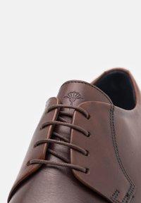 JOOP! - PHILEMON LACE UP - Smart lace-ups - brown - 5