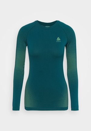 CREW NECK PERFORMANCE WARM - Sportshirt - submerged