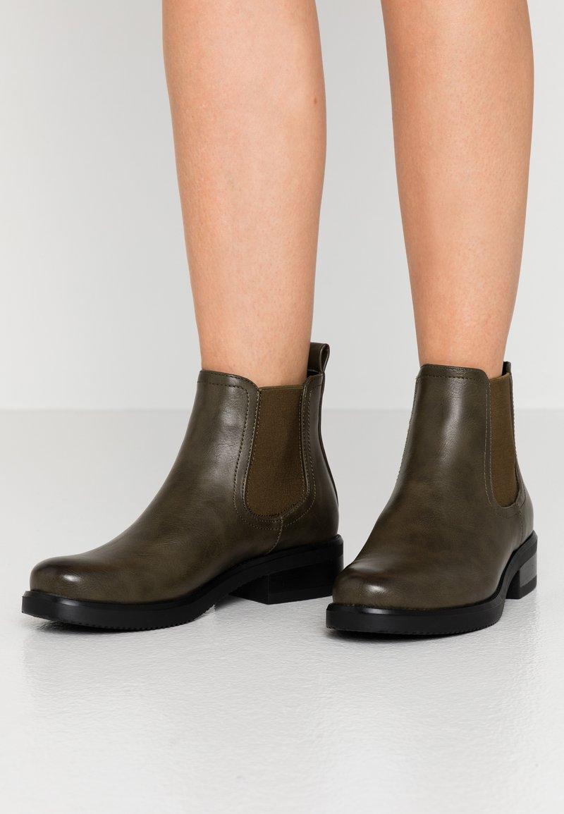 Anna Field - Ankle boots - dark green