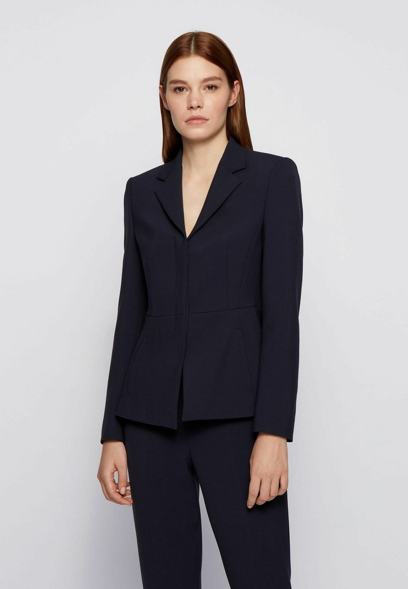 BOSS - JASTY - Blazer - open blue