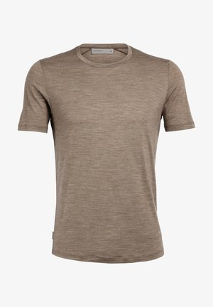 MENS SPHERE CREWE - Basic T-shirt - brown