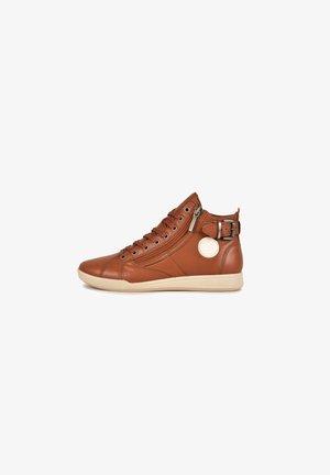 PALME F4G - Sneakersy wysokie - camel