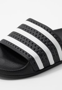 adidas Originals - ADILETTE - Mules - core black/footwear white - 2