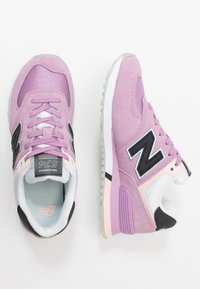 New Balance - WL574 - Trainers - purple - 3