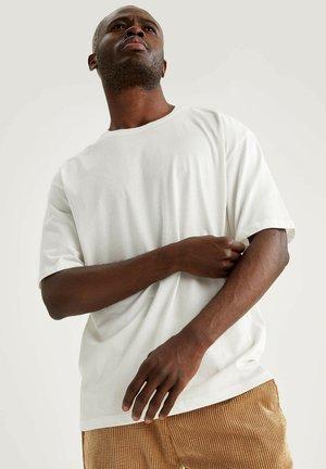 OVERSIZE - T-shirt imprimé - white