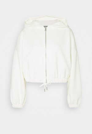 ONLSCARLETT ZIP HOOD - Zip-up hoodie - cloud dancer
