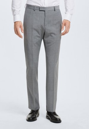 MERCER - Suit trousers - gray