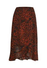 InWear - A-line skirt - cayenne poetic flower - 8
