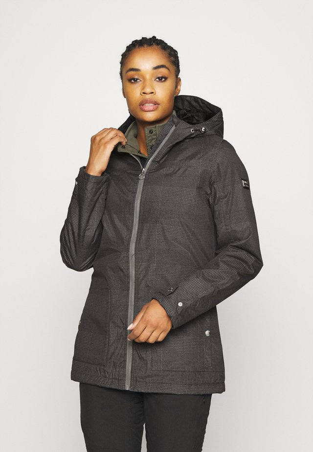 BERGONIA - Parka - lead grey