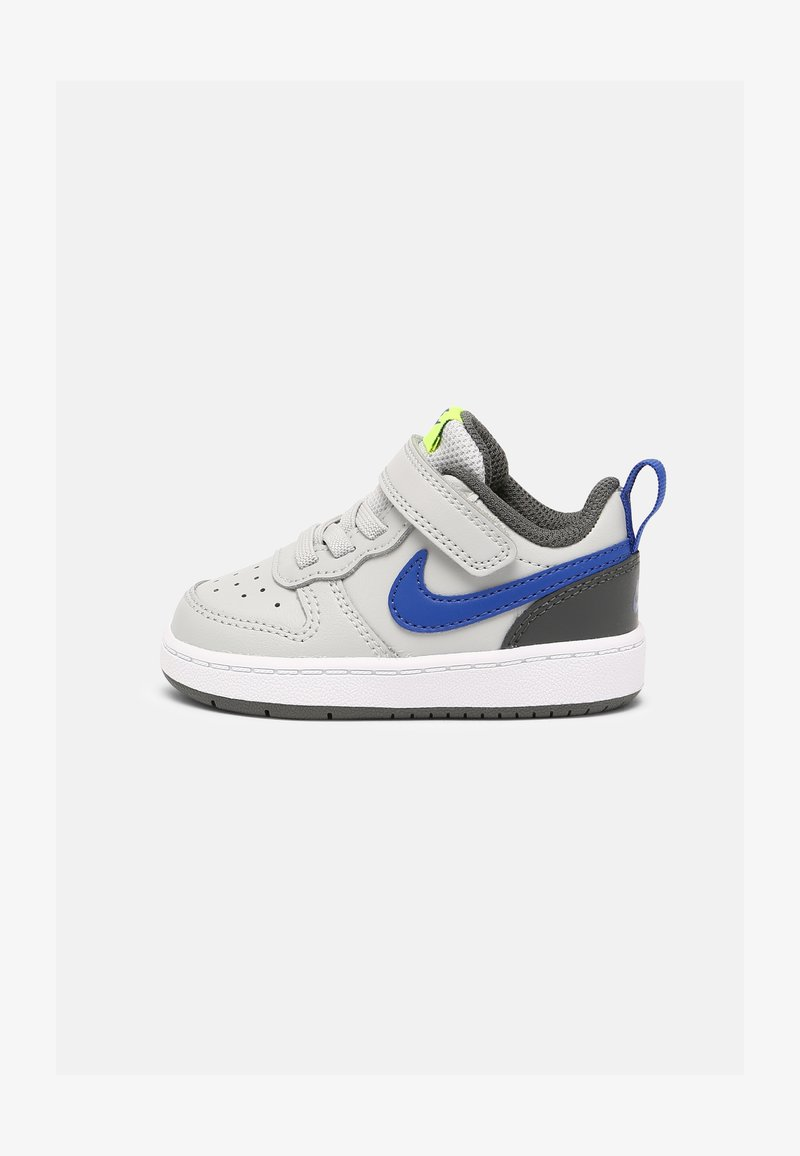 Nike Sportswear - COURT BOROUGH LOW 2 UNISEX - Baskets basses - grey fog/game royal/iron grey/volt