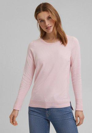 SWEATERS CREW NECK - Strikpullover /Striktrøjer - light pink