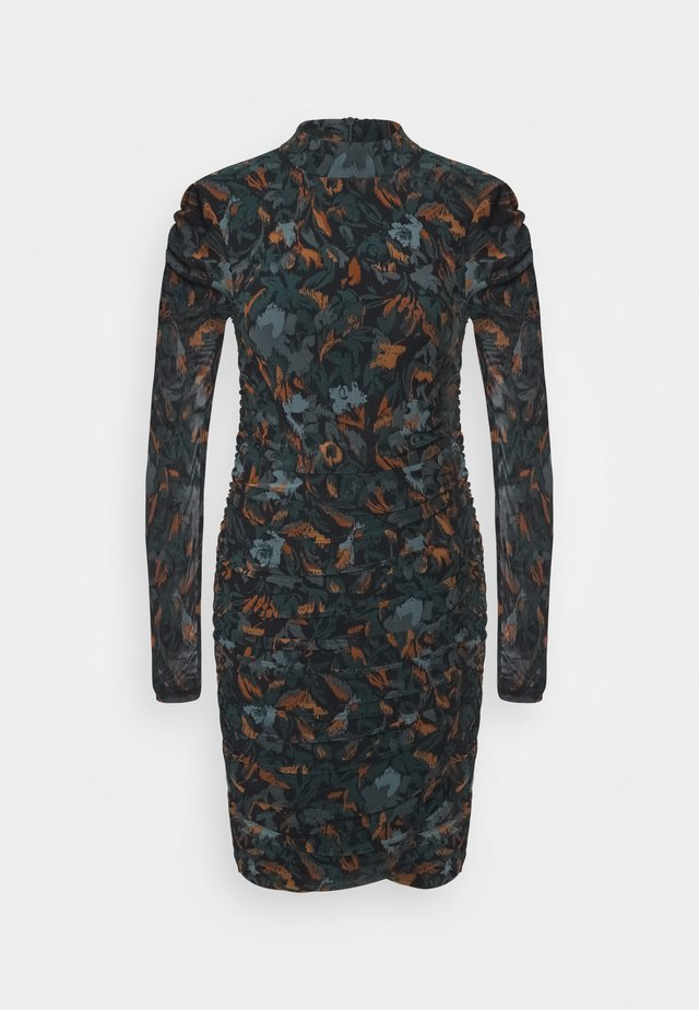 SANNIE DRESS - Robe fourreau - deep teal mix