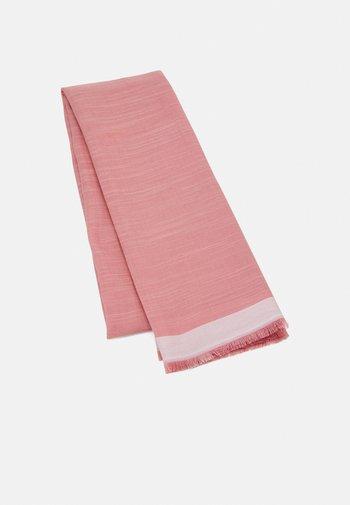 SIGNATURE SCARF - Scarf - pink