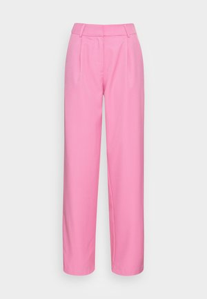 YASSERENA WIDE PANTS - Trousers - fuchsia pink