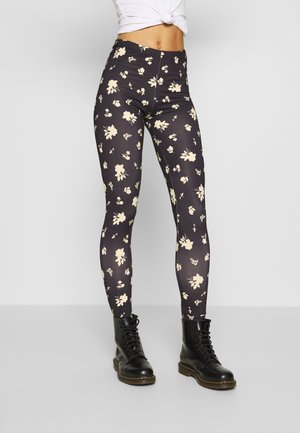 ONLARIA LONG - Leggings - black