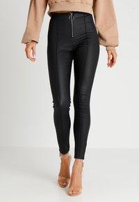 Tiger Mist - PENNY PANT - Kalhoty - black - 0