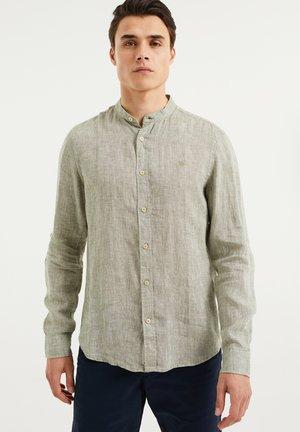 SLIM FIT - Shirt - greyish green