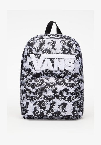 School bag - black/tie dye skull